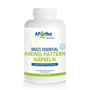 APOrtha Multi essential Amino Pattern 500 mg - 300 vegane Kapseln