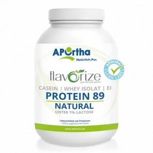APOrtha flavorize - Protein 89 NATURAL - 1.000 g