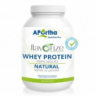 flavorize Whey-Protein-Isolat NATURAL - 1.000 g